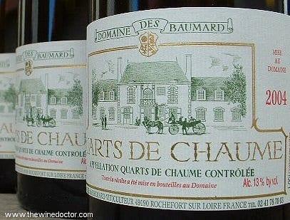 Domaine des Baumard Quarts de Chaume 2004