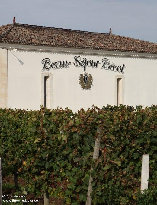 Château Beau-Séjour Bécot