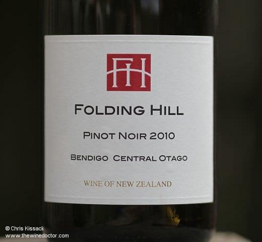 Folding Hill Pinot Noir 2010