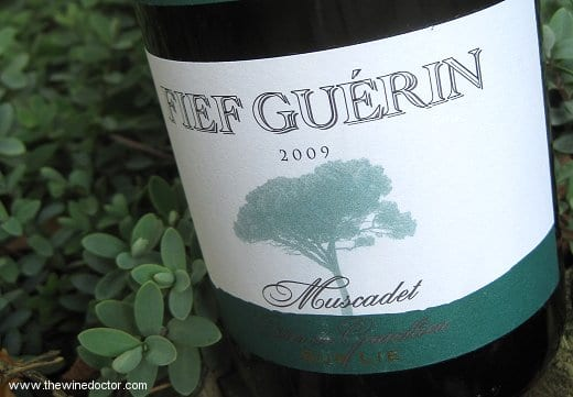 Domaine des Herbauges Muscadet Côtes de Grandlieu sur lie Fief Guérin 2009