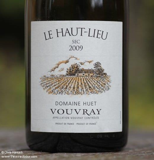 Domaine Huet Vouvray Le Haut Lieu Sec 2009