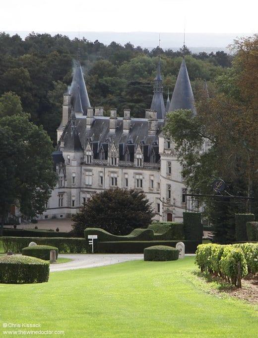 Domaine de Ladoucette, Comte Lafond, Château du Nozet