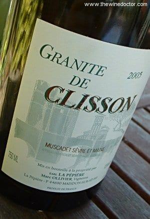 Domaine de la Pépière Muscadet Sèvre & Maine Granite de Clisson 2005