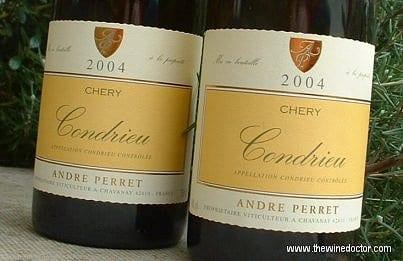 André Perret Condrieu Chéry 2004