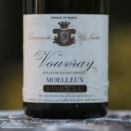 Domaine du Clos Naudin Vouvray Moelleux 1990
