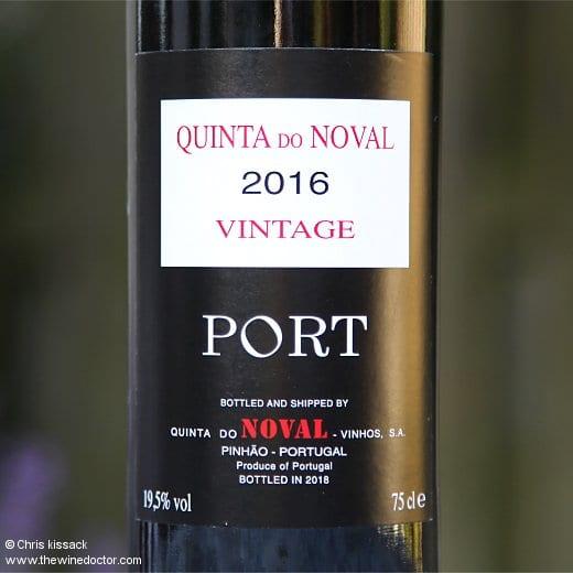 Quinta do Noval Vintage Port 2016