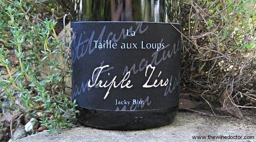 La Taille aux Loups Montlouis-sur-Loire Petillant Triple Zero NV