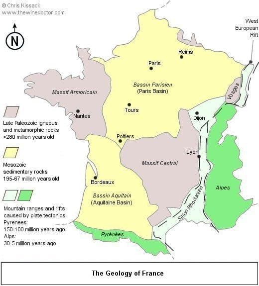 Bordeaux Geology
