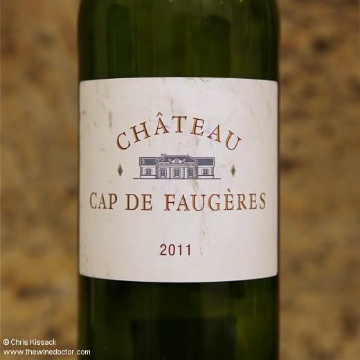 Château Cap de Faugères 2011