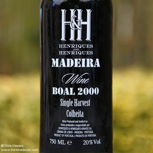 Henriques & Henriques Madeira Boal Colheita 2000