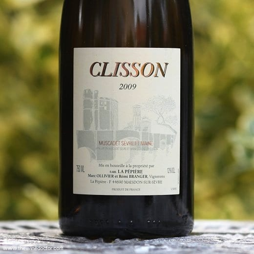 The 2011 Muscadet Crus Communaux: Clisson label