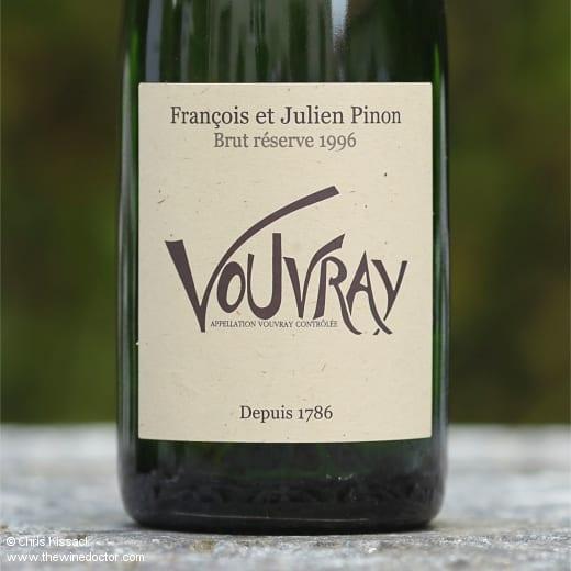 François et Julien Pinon Vouvray Brut Réserve 1996