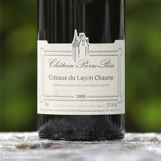 Château Pierre-Bise Coteaux du Layon Chaume 2004