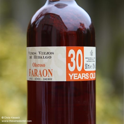 Hidalgo Oloroso Faraon 30 Years Old