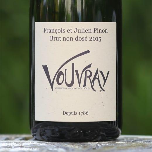François et Julien Pinon Vouvray Brut Non-Dosé 2015