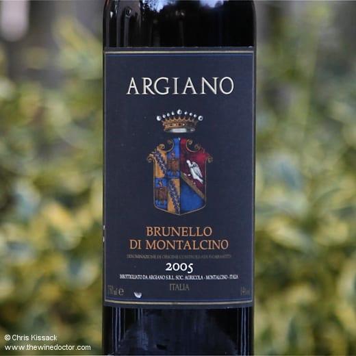 Argiano Brunello di Montalcino 2005