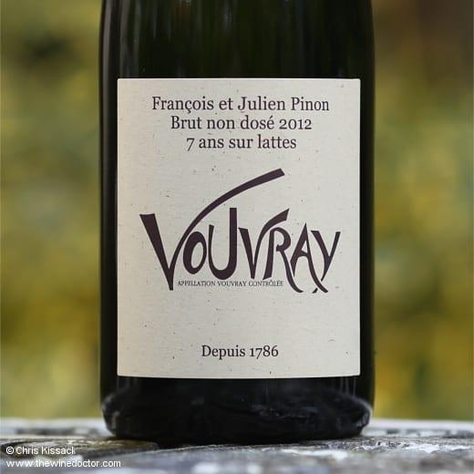 François Pinon Vouvray Brut Non-Dosé 7 Ans Sur Lattes 2012