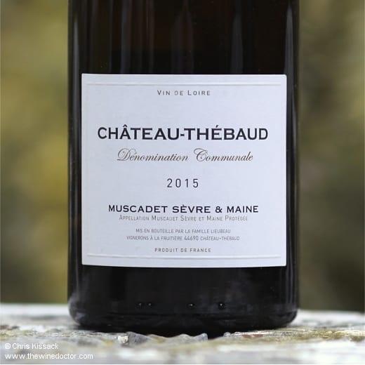 Famille Lieubeau Muscadet Sèvre et Maine Château-Thébaud 2015