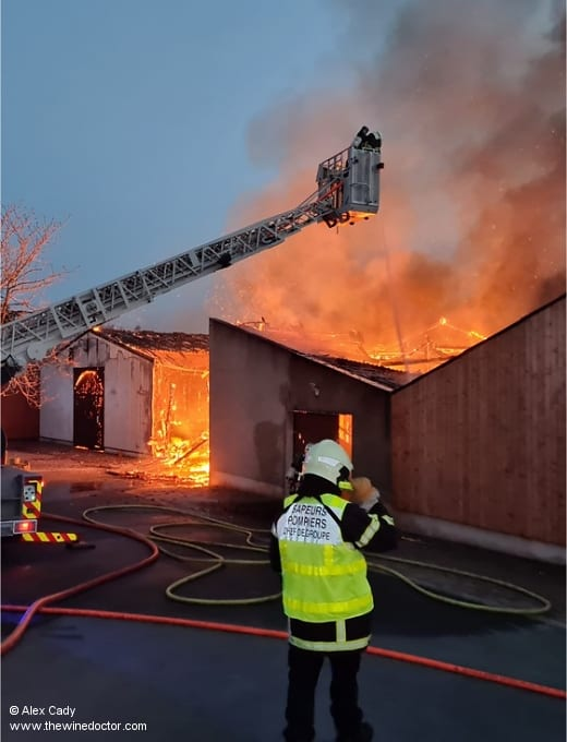 Domaine Cady Fire