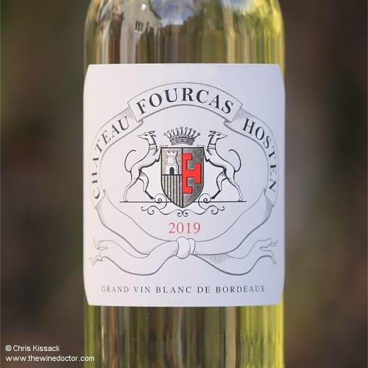 Le Blanc de Château Fourcas Hosten 2019