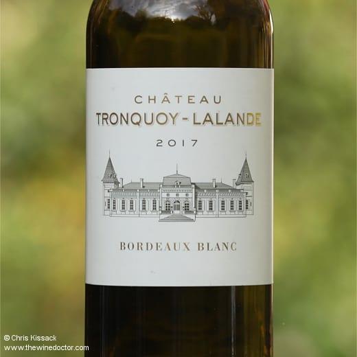 Château Tronquoy-Lalande Bordeaux Blanc 2017